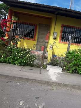 Venta de terreno con casa en San Sebastian del Coca