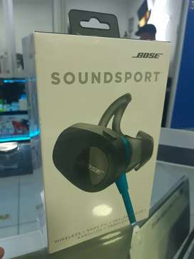 Espectaculares Bosse Soundsport Blue Inalambricos Nuevos Sellados,  Factura legal,