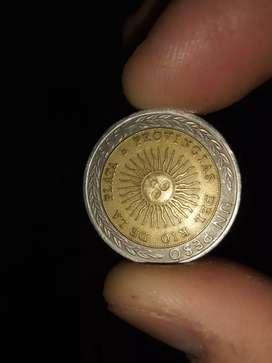 Moneda de 1 pesos PROVINGIAS
