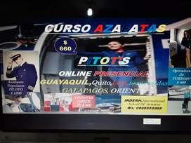 ¡¡¡ CURSO AZAFATAS PILOT'S ONLINE PRESENCIAL!!!