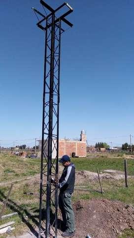 Torres para tanque de agua