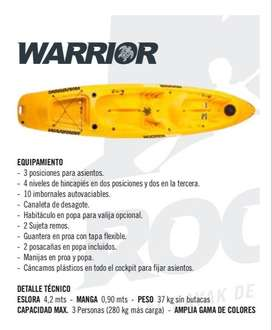 kayak Warrior 2/3 personas Rocker