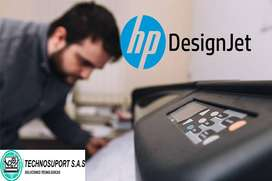 mantenimiento plotter hp