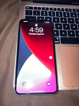 Iphone 11 Pro Max de 64Gb color plateado