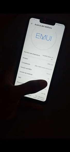 Huawei mate 20 imei original 9 de 10 perfecto estado