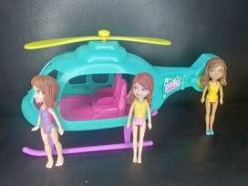 Polly pocket helicóptero