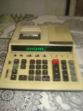 Calculadora Sharp Cs-2181 Japan Impres A 2 Colores No Envio