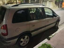 Chevrolet Zafira modelo 2003 con GNC para 110 km