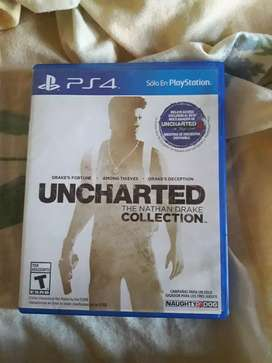 Juego de ps4 uncharted collection