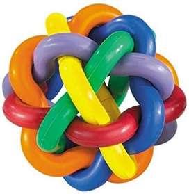 MultiPet pelota multicolor para perros tamaño grande