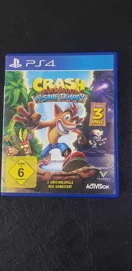Crash Bandicoot N-sane Trilogy Físico Ps4 Original