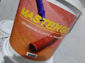 Membrana en pasta 20 litros, latex blanco 20 litros