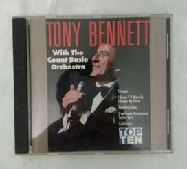 Tony bennet count basie orchestra cd original nuevo
