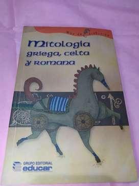 Libro mitología griega, celta y romana