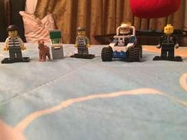 Atraco del cajero lego city