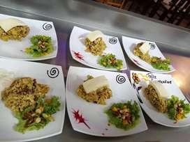 Cocinero con experiencia