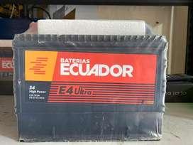 Bateria Ecuador 34 HP E4 Premium