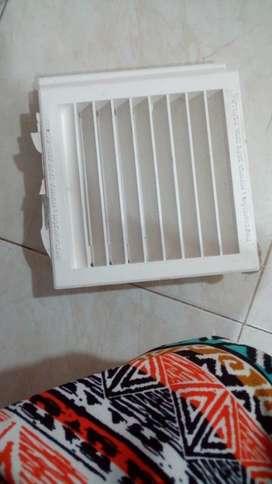 Rejillas Ventilación Cambio por Herramie