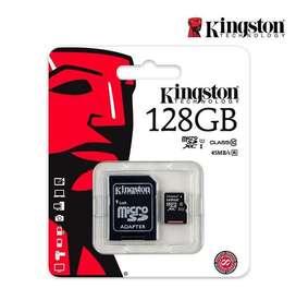 Memoria microSd KIngston 128 Gigas