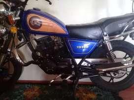vendo moto tundra (nueva)