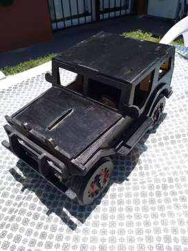 Jeep de madera