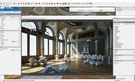 Programa DISEÑO 3D Thea Render 2019 Para Rhinoceros, Cinema4D Sketchup software