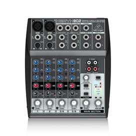 Mixer Consola Behringer Xenyx 802 Mezclador Behringer 802
