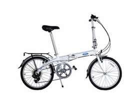 Bicicleta Plegable Ford Dahon Convertible 2.0 7 Velocidades Blanco