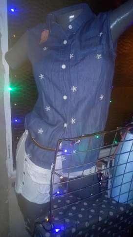 Camiseta shor