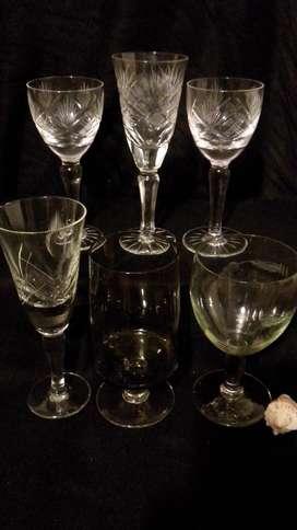 Copas de Cristal Varias
