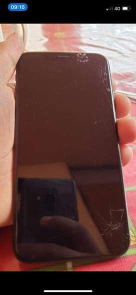 Vendo o cambio iphone xs con detalle en el glass