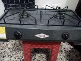 Se vende hermosa estufa de dos hornillas
