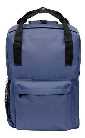 Mochila reforzada Porta Notebook color azul