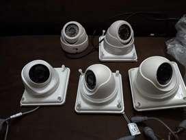 Cámaras de seguridad con infrarrojo + DVR