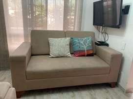 Sofa dos puestos