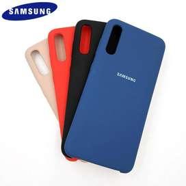 Funda Silicone Case Soft Samsung A30s interior afelpado originales