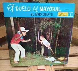 Discos Long Plays Lps Acetatos Pasta Vinilos Vinyl EL DUELO DEL MAYORAL