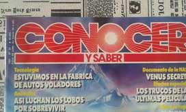 Revista Conocer Y Saber N 35 Año 1991 Arca De Noe En La Plata