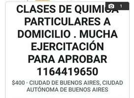 CLASES DE QUIMICA PARTICULARES Y A DOMICILIO