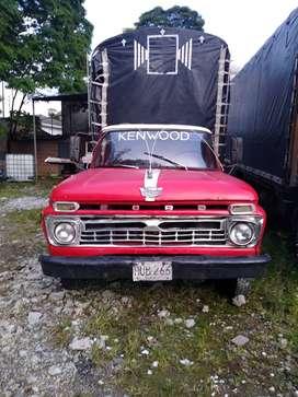 Vendo camioneta Ford 350 m.66