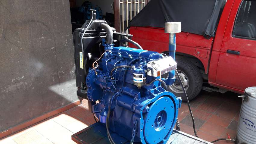 VENDO MOTOR PERKINS DIESEL 65 HP 0