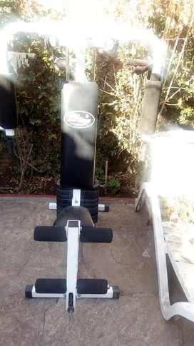Vendo mini gym casi nuevo