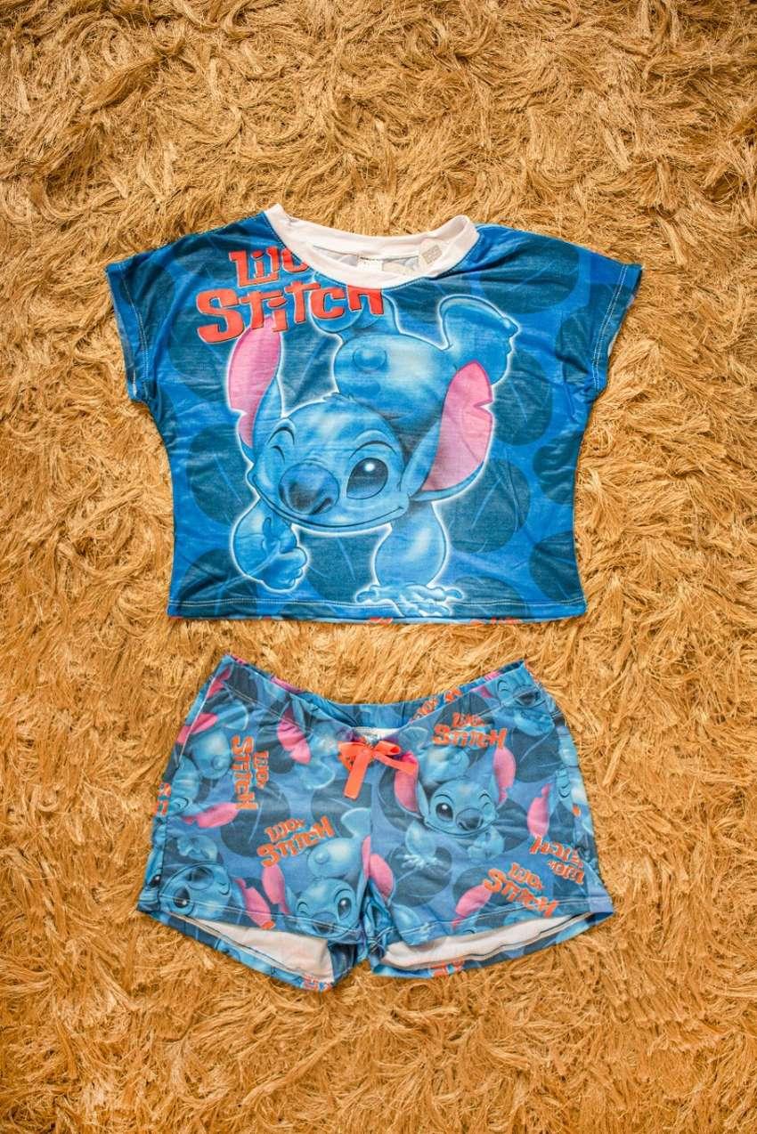 Hermosas pijama licradas tipo algodón 0