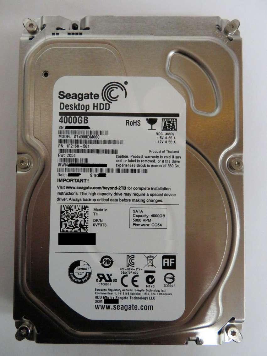 Disco Duro 4Tb seagate 4 TB perfecto estado 0