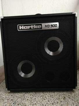 Amplificador Hartke para bajo.  HD500.