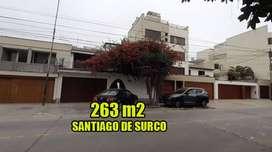 VENTA DE CASA DE 263 M2 EN SANTIAGO DE SURCO