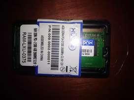 Vendo memoria Ram 4 GB Nueva