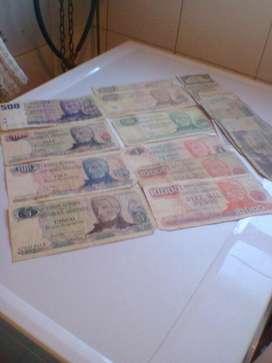 Lote de Pasajes Argentinos-Pesos,Australes Liquido!!!