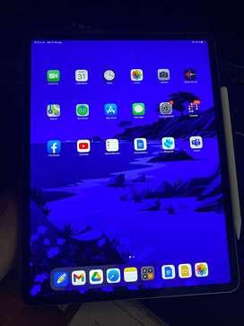 Ipad Pro 12.9 3ra generación como nuevo