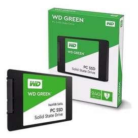 D.D SSD 240 GB WD GREEN